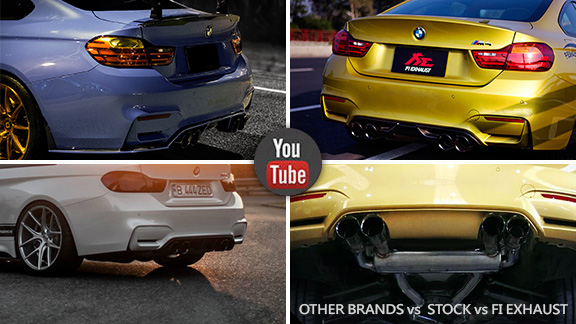 BMW M4 Exhaust �������� Ʒ���Ƽ� AKRAPOVIC vs FI EXHAUST vs CAPRISTO vs AC SCHNITZER vs STANIC