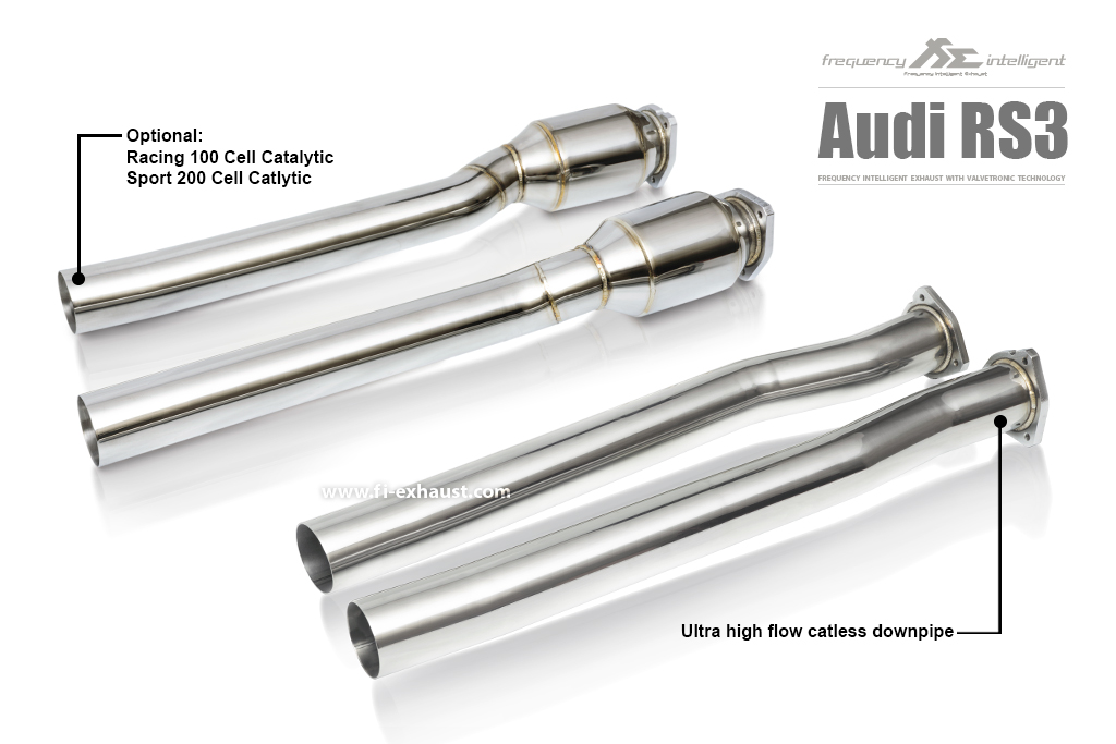 Audi rs3 Catalytic Catless Cat Down Pipe