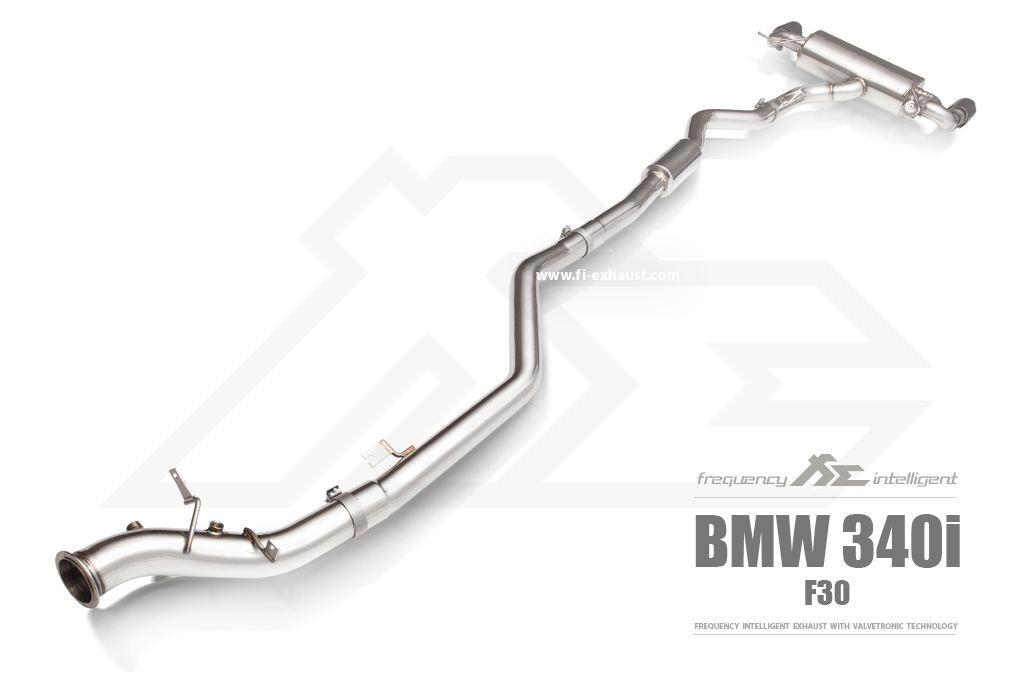 BMW 340i Valve fi-Exhaust