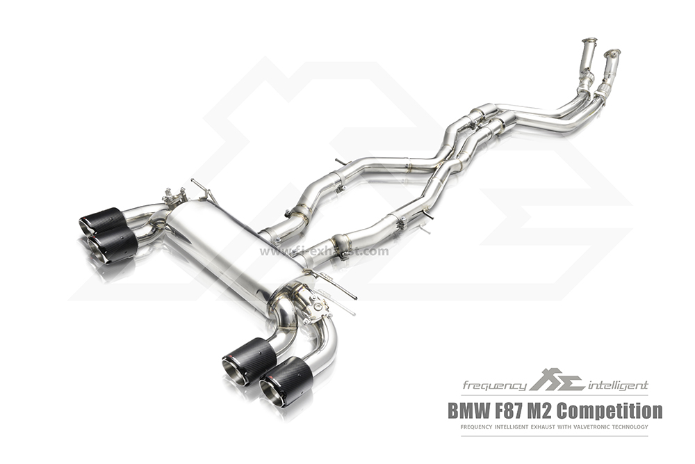 BMW M2 Competition M-POWER Valvetronic (valve) Exhaust