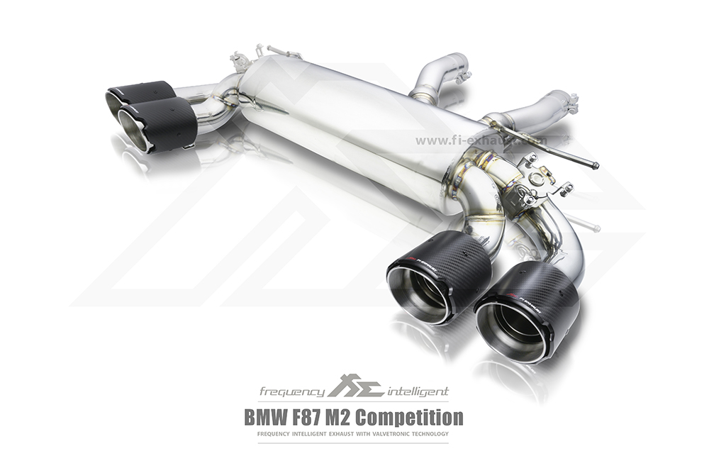 BMW M2 Competition M-POWER Exhaust2
