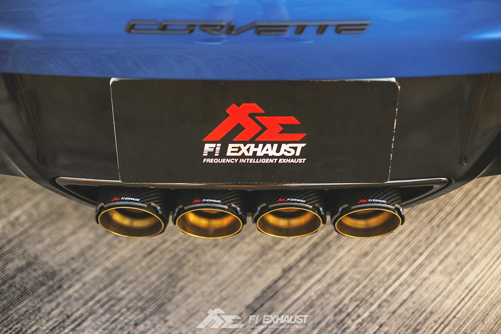 Chevrolet Corvette Z06 C7 Fi-exhaust