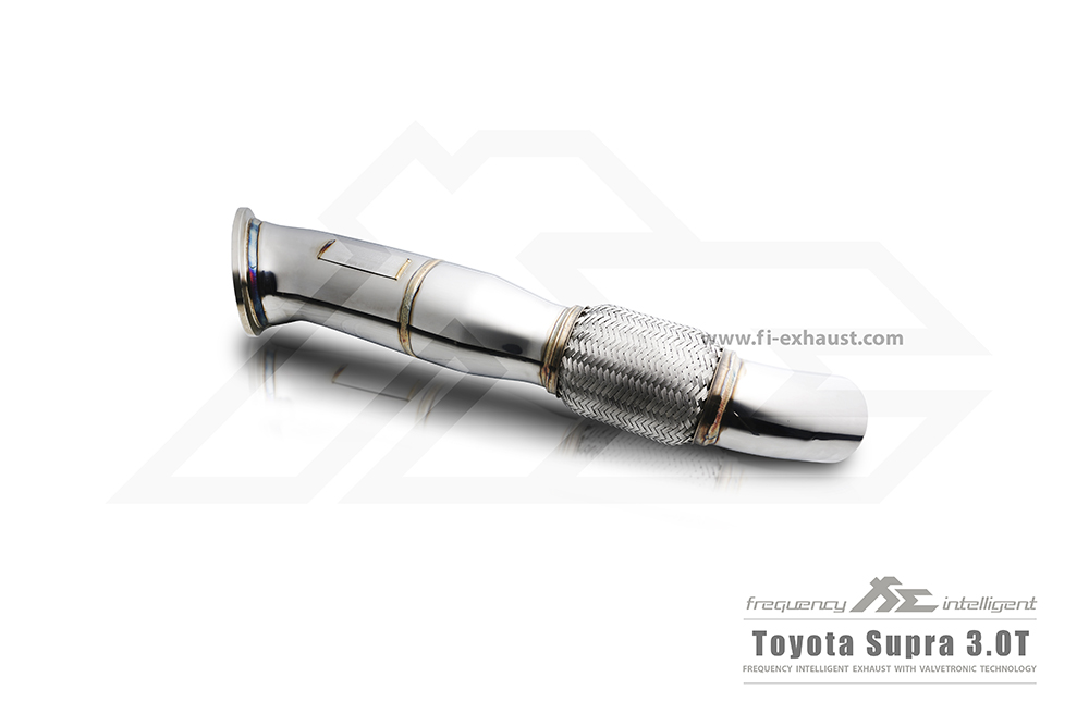 Toyota Supra 3.0T Ultra High Flow Catless Front Pipe